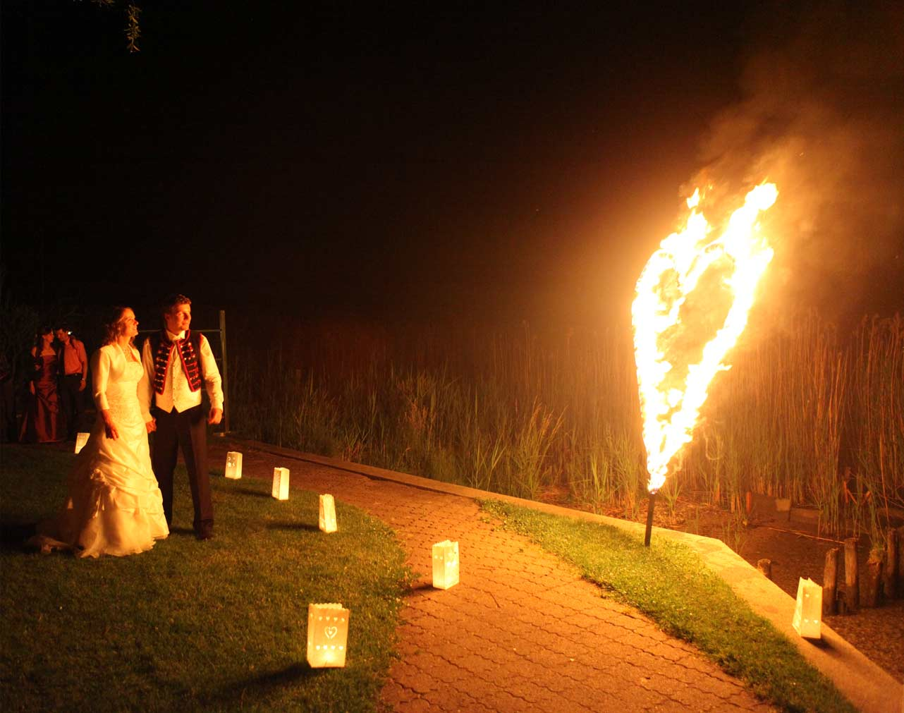 Relativ Hochzeit Blog: brennendes herz hochzeit CI59